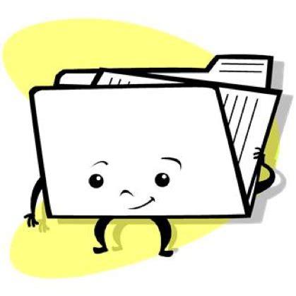 put resume in folder